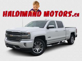 Used 2017 Chevrolet Silverado 1500 HIGH COUNTRY CREW 4WD for sale in Cayuga, ON