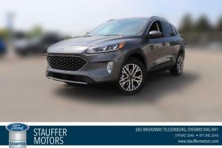 New 2021 Ford Escape SEL Hybrid for sale in Tillsonburg, ON