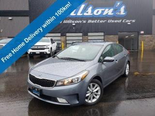 Used 2017 Kia Forte EX, Reverse Camera, Heated Seats, Dual Climate Controls, Cruise Control, Bluetooth and more! for sale in Guelph, ON