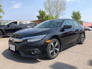 Used 2017 Honda Civic Touring I NAVI I LEATHER I SUNROOF for sale in Concord, ON