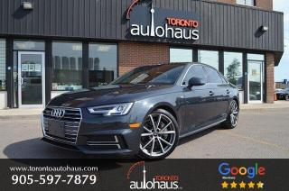 Used 2017 Audi A4 TECHNIK I S-LINE I EXCELLENT CONDITION I LOW KM for sale in Concord, ON