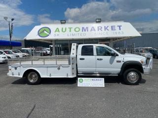 Used 2010 Dodge Ram 5500 CUSTOM ONE OF A KIND! CREW 4WD 4500 FLATDECK TOY HAULER!! BEAUTIFUL! AMAZING! for sale in Langley, BC