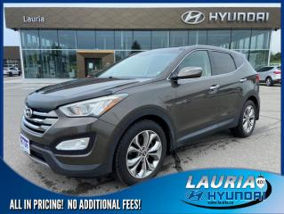 Used 2013 Hyundai Santa Fe 2.0T AWD Limited - LOW KMS / LOADED for sale in Port Hope, ON
