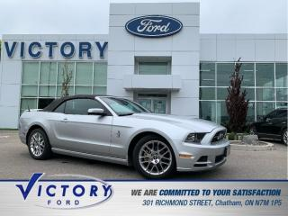 Used 2014 Ford Mustang V6 Premium   HEATED SEATS   CRUISE CONTROL for sale in Chatham, ON