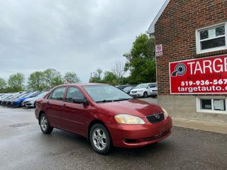 Used 2007 Toyota Corolla CE PLUS. ALLOY WHEELS! SUNROOF.   AS IS SPECIAL! for sale in London, ON