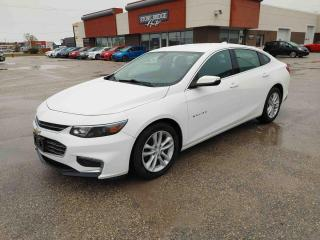 Used 2017 Chevrolet Malibu LT for sale in Steinbach, MB