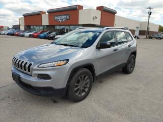 Used 2015 Jeep Cherokee Sport for sale in Steinbach, MB