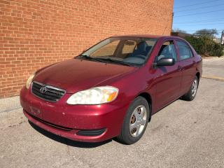 Used 2005 Toyota Corolla manual for sale in Oakville, ON