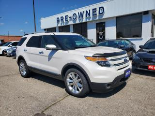 Used 2013 Ford Explorer LIMITED for sale in Brantford, ON