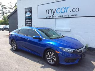 Used 2018 Honda Civic EX SUNROOF, ALLOYS, HEATED SEATS, BACKUP CAM!! for sale in Richmond, ON