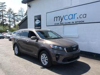 Used 2019 Kia Sorento 2.4L EX LEATHER, HEATED SEATS/WHEEL, 7 PASS, BACKUP CAM!! for sale in Kingston, ON