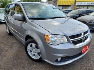 Used 2014 Dodge Grand Caravan Crew/NAVI/CAMERA/BLUETOOTH/ALLOYS/LOADED for sale in Scarborough, ON