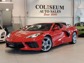 Used 2020 Chevrolet Corvette STINGRAY COUPE-ADREANLIN RED LEATHER for sale in Toronto, ON