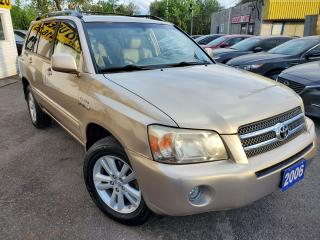 Used 2006 Toyota Highlander LIMITED/7PASS/LEATHER/ROOF/HYBRID/LOADED/ALLOYS for sale in Scarborough, ON