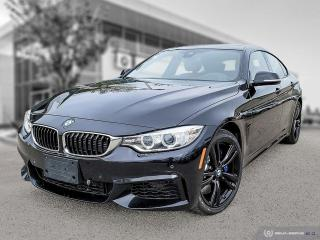 Used 2017 BMW 4 Series 440i xDrive New Front Brakes! Enhanced! M Performance! Red Leather! Driver Assist! for sale in Winnipeg, MB
