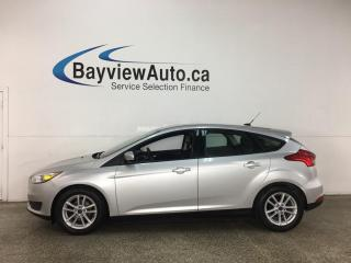 Used 2018 Ford Focus - AUTO! SYNC! REVERSE CAM! ALLOYS! ONLY 51,000KMS! for sale in Belleville, ON