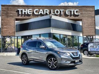 Used 2017 Nissan Rogue SL Platinum LEATHER!! SUNROOF!! SAFTEY SHIELD!!! NAVIAGTION!! HEATED STEERING WHEEL!! for sale in Sudbury, ON