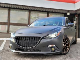 Used 2014 Mazda MAZDA3 GT-SKY NAVI | LEATHER | BOSE | SUNROOF | BACKUP CAMERA for sale in Waterloo, ON