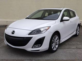 Used 2011 Mazda MAZDA3 GT,LEATHER,NO-ACCIDENT,ONE-OWNER,CERTIFIED, for sale in Mississauga, ON
