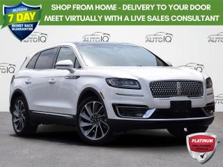 Used 2019 Lincoln Nautilus Reserve AWD | 2.0L | DRIVERS ASSISTANCE PACKAGE | LINCOLN NAUTILUS CLIMATE PACK | XLT | A/C | REMOTE KEYLESS for sale in Waterloo, ON