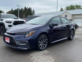 Used 2020 Toyota Corolla SE UPGRADE+PLATINUM WARRANTY-100,000 KMS! for sale in Cobourg, ON