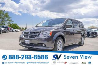 Used 2020 Dodge Grand Caravan Premium Plus LEATHER/REMOTE STARTER/REAR CLIMATE for sale in Concord, ON