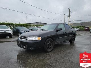 Used 2001 Nissan Sentra GXE for sale in Saint-Eustache, QC