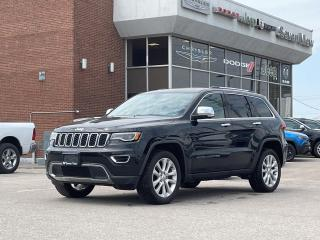 Used 2017 Jeep Grand Cherokee Limited NAVI/FULL SUNROOF/BLIND SPOT DETECTION for sale in Concord, ON