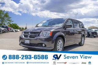 Used 2020 Dodge Grand Caravan Premium Plus UCONNECT/REMOTE STARTER/REAR CLIMATE for sale in Concord, ON