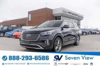 Used 2017 Hyundai Santa Fe XL Limited NAVI/LEATHER/FULL SUNROOF for sale in Concord, ON