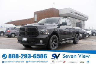Used 2021 RAM 1500 Classic EXPRESS BLACK OUT PACKAGE/20 INCH WHEELS/UCONNECT for sale in Concord, ON