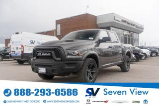 Used 2021 RAM 1500 Classic WARLOCK NAVI/ALPINE AUDIO/UCONNECT/20 INCH WHEELS for sale in Concord, ON