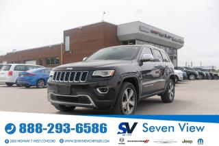 Used 2016 Jeep Grand Cherokee Limited NAVI/FULL SUNROOF/UCONNECT for sale in Concord, ON