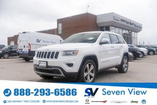 Used 2015 Jeep Grand Cherokee Limited NAVI/LEATHER/20 INCH WHEELS for sale in Concord, ON