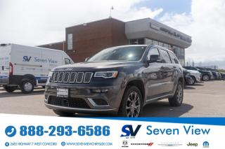 Used 2019 Jeep Grand Cherokee Summit 4x4 SIGNATURE LEATHER/NAVI/FULL SUNROOF for sale in Concord, ON