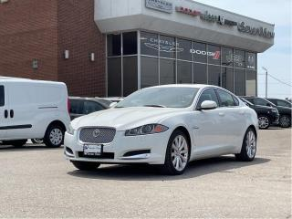 Used 2014 Jaguar XF 3.0L NAVI/LEATHER/SUNROOF for sale in Concord, ON