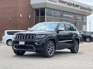 Used 2018 Jeep Grand Cherokee Limited NAVI/FULL SUNROOF/BLIND SPOT DETECTION/ ON for sale in Concord, ON