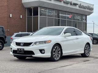 Used 2014 Honda Accord EX-L-NAVI V6 LEATHER/SUNROOF/REAR CAMERA for sale in Concord, ON