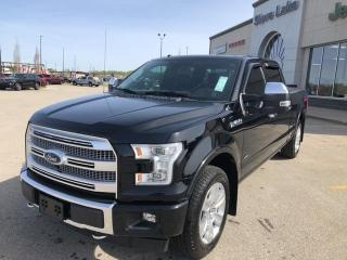 Used 2017 Ford F-150 PLATINUM, LEATHER,NAVIGATION,NO ACCIDENTS for sale in Slave Lake, AB