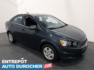 Used 2015 Chevrolet Sonic LT - Économique - Bluetooth - Climatiseur for sale in Laval, QC