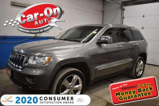 Used 2012 Jeep Grand Cherokee Overland   BLIND SPOT   NAVIGATION   5.7L QUADRA-D for sale in Ottawa, ON