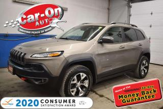 Used 2017 Jeep Cherokee Trailhawk  LEATHER PLUS GROUP   PANO SUNROOF   NAV for sale in Ottawa, ON