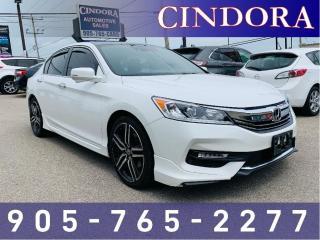 Used 2017 Honda Accord Sedan Sport, Heated Seats, Sunroof for sale in Caledonia, ON