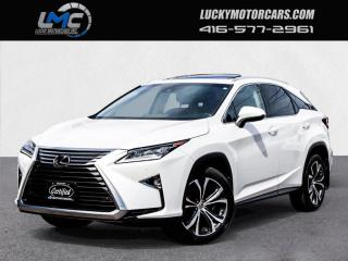 Used 2017 Lexus RX 350 LUXURY-AWD-SUNROOF-NAV-CAMERA-NO ACCIDENTS-90KMS for sale in Toronto, ON