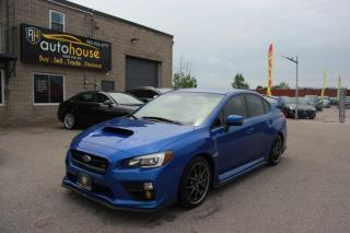 Used 2016 Subaru WRX STI SPORT TECH PACKAGE/LEATHER SEATS/SUNROOF/NAVI/HARMAN KARDON for sale in Newmarket, ON