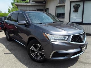 Used 2017 Acura MDX SH-AWD 9-Spd AT - LEATHER! BACK-UP CAM! DRIVING AIDS! 7 PASS! for sale in Kitchener, ON
