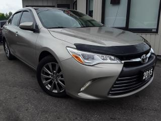 Used 2015 Toyota Camry XLE V6 - LEATHER! NAV! BACK-UP CAM! BSM! SUNROOF! for sale in Kitchener, ON