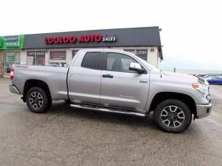 Used 2014 Toyota Tundra SR5 iForce 5.7L Double Cab 4WD Camera Certified for sale in Milton, ON