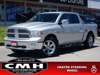 Used 2009 Dodge Ram 1500 Laramie  NAV CAM DVD ROOF LEATH 20-AL for sale in St. Catharines, ON