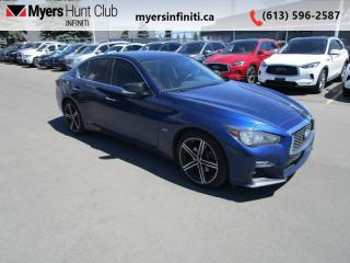 Used 2019 Infiniti Q50 3.0t Signature Edition AWD for sale in Ottawa, ON